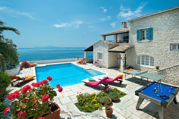 corfu villas greece